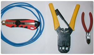 Tools needed for crimping