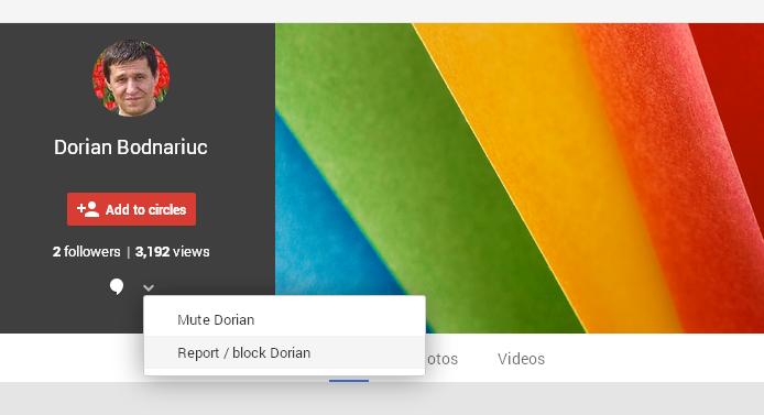 Block or Mute A Google Plus Profile